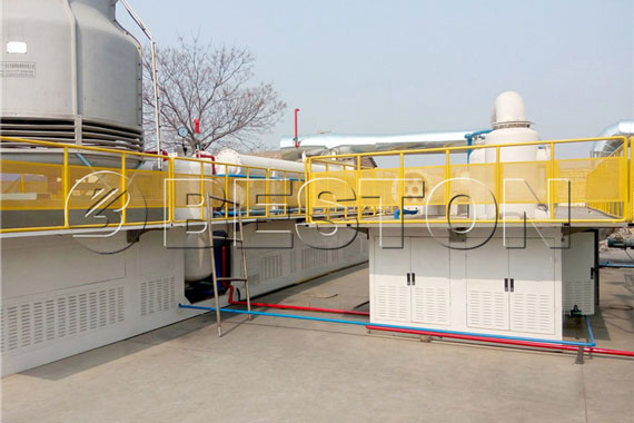Tyre Pyrolysis Plant Project
